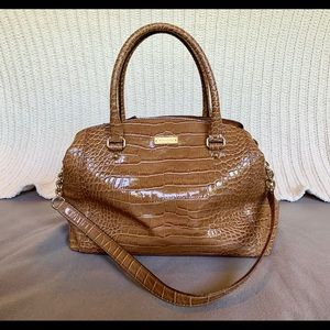 Kate Spade Patent Alligator Style Bag